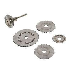 6 PIECE HSS SAW DISC SET 22 25 32 35 AND 44MM FOR ROTARY DRILL DREMEL HOBBY LA47