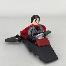 Raro Wb Dc Comics Superman hijo rojo soviético Personalizado Minifigure se ajusta Lego