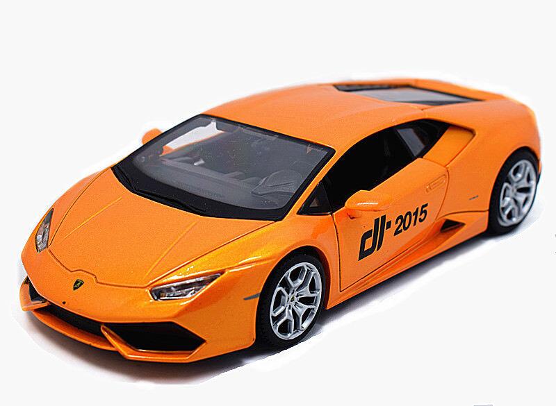 Maisto 1 24 Lamborghini Huracan LP610-4 Metal Diecast Model Car New orange