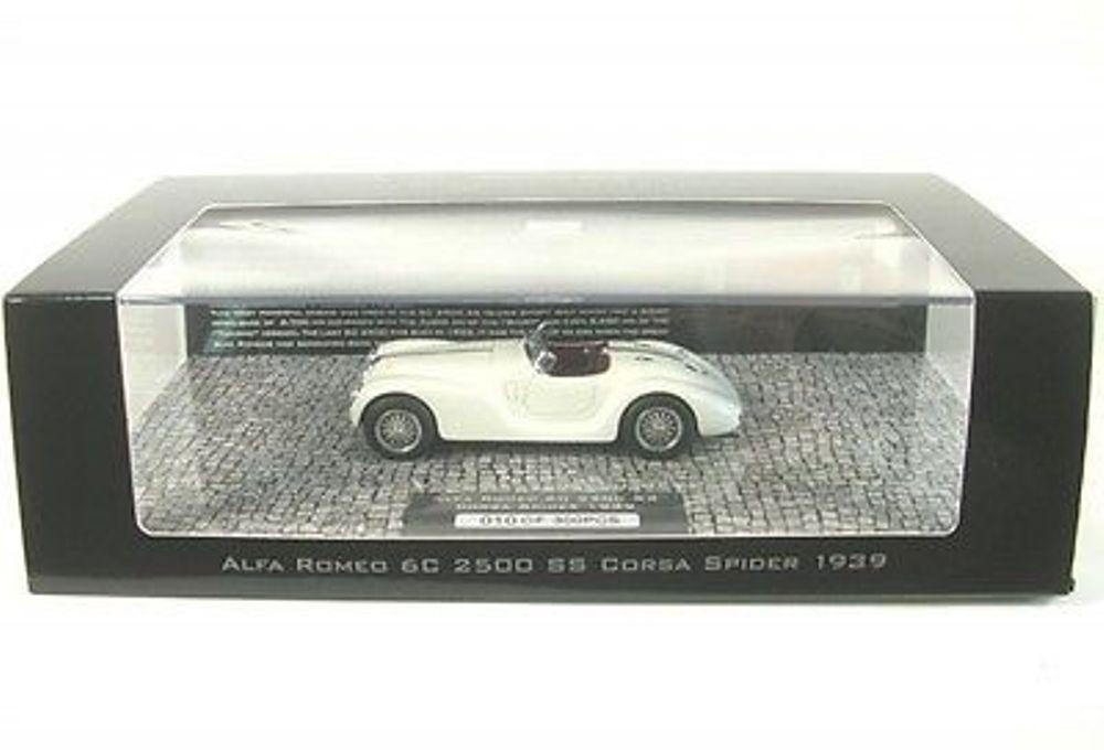 ALFA ROMEO 6C 2500 SS CORSA SPIDER 1939 bianca MINICHAMPS 437120234 1 43 WEISS
