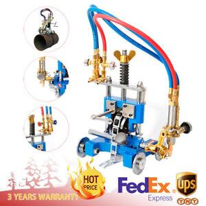 Manual Pipe GAS Cutter Beveler Torch Track Chain CG-211 Cutting Beveling Machine