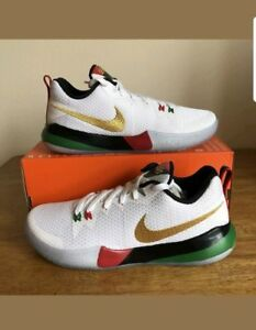 Details about Nike BHM Black History Month Size 12.5 Zoom Live II Red Green Shoes AQ9580 100