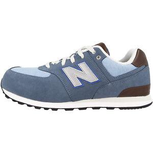 NEW Balance kl574u2g Scarpe Sneaker Blue Bell fin kl574 u2g 373 410 420 tempo libero