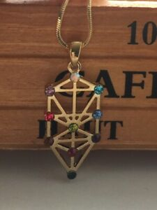 Sacred Geometry Kabbalah Tree Of Life Necklace Goldtone Symbol Of Judaism Ebay It is used to show the path to god or hashem. details about sacred geometry kabbalah tree of life necklace goldtone symbol of judaism