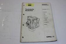 Opel Corsa B Neuerungen Neuheiten Service Handbuch Werkstatthandbuch Manual