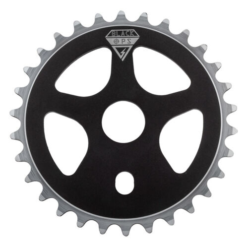 Black Ops Micro Drive Chainring Bk-ops 30t Micro Drive Aly Blk