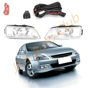 Fog Lights Driving Lamp w/ Harness Switch Kit k For Honda Accord Acura 2003- 07 | eBayeBay
