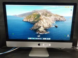 "Apple iMac MF125LL/A Core i7 3.5 27"" 8GB 1TB Fusion - BEAST!"