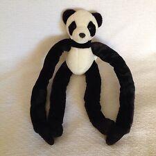 Animal Alley Panda Bear Plush Adjustable Arms Legs Limbs Black White Teddy Toy