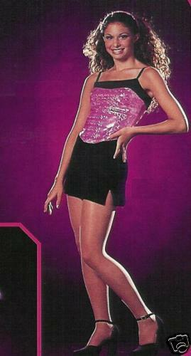 Spotlight Holographic Jazz Dance Costume Adult Small Large /& XL CLEARANCE