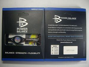 BRAND-NEW-POWER-BAND-BALANCE-BRACELET-BLACK-WHITE-SIZES-XS-SM-M-L