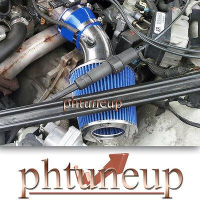 BLUE 1997-2003 PONTIAC GRAND PRIX 3.8 3.8L GT GTP SE AIR INTAKE KIT + FILTER