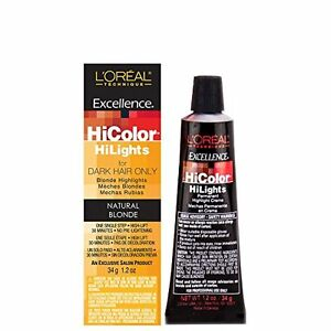 Image Is Loading L 039 Oreal Excellence Hicolor Hilights For Dark