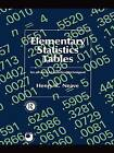 Elementary Statistics Tables by Henry R. Neave (Paperback, 1981)