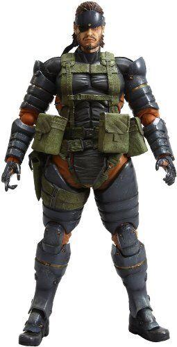 PLAY ARTS Kai : Vol.4 Metal Gear Solid Peace Walker SNAKE Buttle Dress Ver.