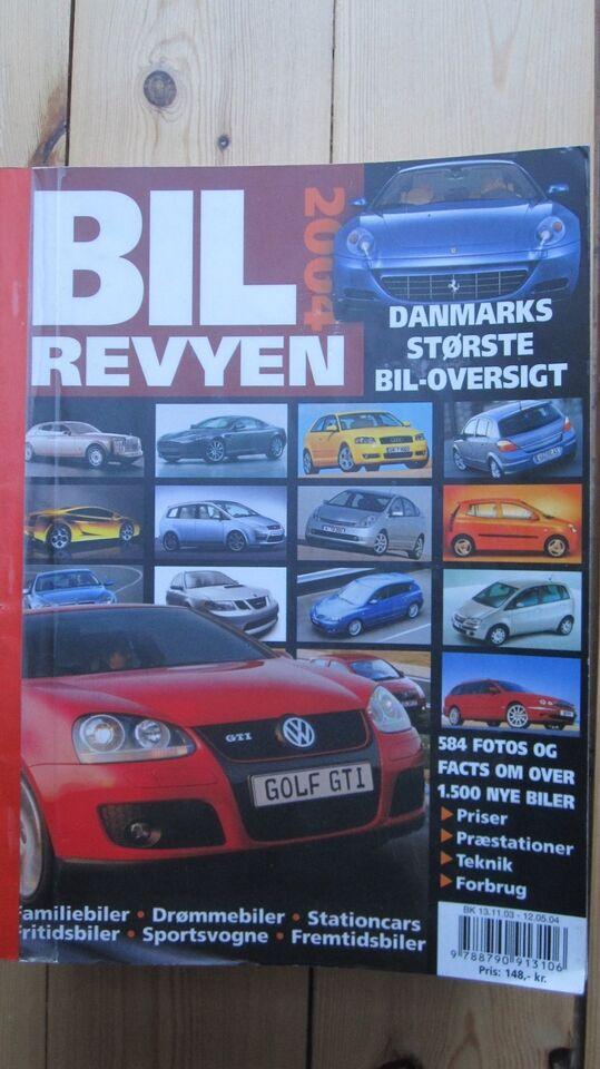 Bil-revyen, emne: bil og motor