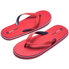 Alpine Swiss Mens Flip Flops Lightweight EVA Thong Summer Sandals Beach Shoes