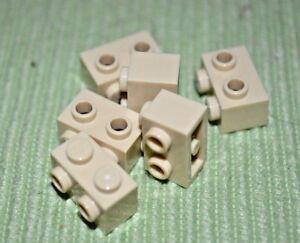1x2 Light Gray Brick w// 2 Pegs on one Side Bricks ~ Lego ~ NEW ~ 6