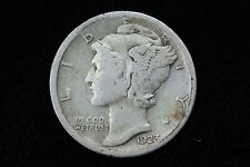 1923-S Mercury Dime LOT 1J37 VF+ Semi Key Date 10C 10 Cent US Silver Coin