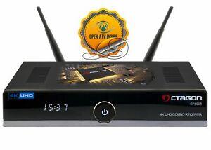 Details zu OCTAGON SF8008 4K UHD DVB-S2X DVB-C/T2 Combo Sat Receiver + Open  ATV