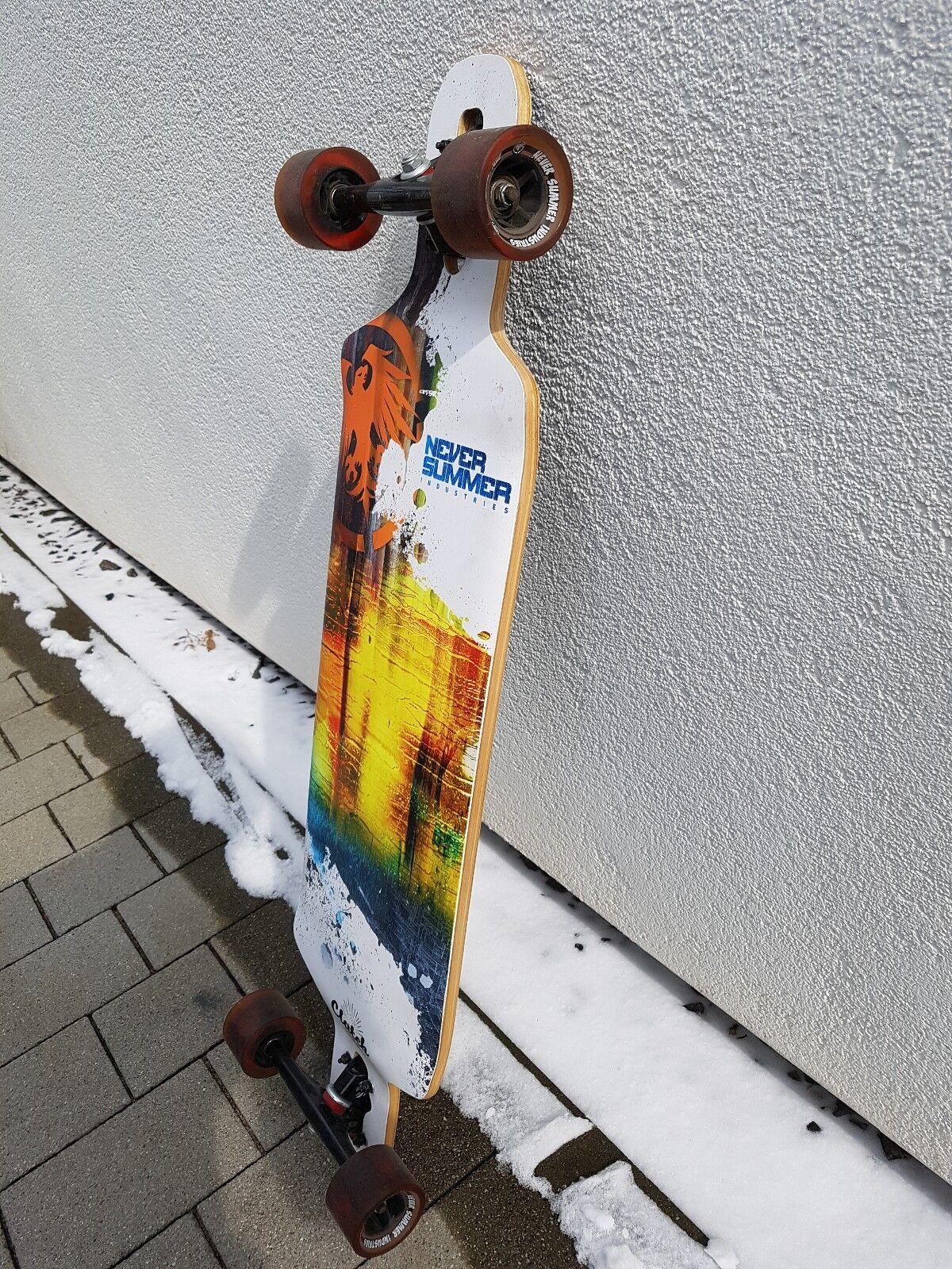 Neversummer CLUTCH Longboard Zustand (sehr guter Zustand Longboard ) 3d424a
