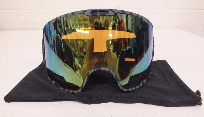 Native Eyewear Treeline Gris Large-Fit Ski/Snowboard Goggles w/Bronze Lens NEW