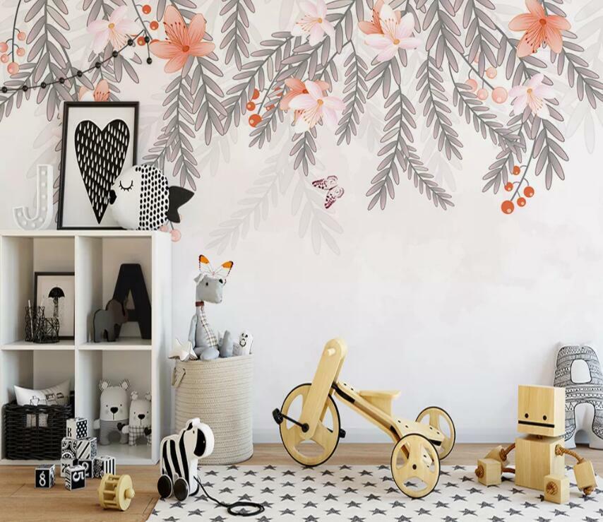 3D Schöner Blätter M1649 Tapete Wandbild Selbstklebend Abnehmbare Aufkleber Amy