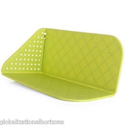 Multiuse Folding Cutting Board Mat Chopping Block Drip Rinse Basket Kitchen Tool