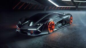 Lamborghini-Terzo-Millennio-Auto-Car-Art-Silk-Wall-Poster-Print-24x36-034
