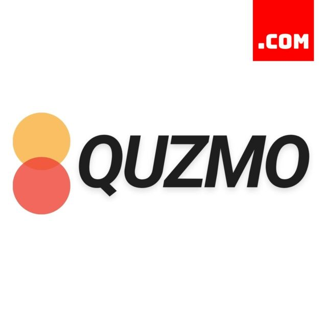 Quzmo.com - 5 Letter Domain - Short Domain Name - Catchy Name .COM Dynadot