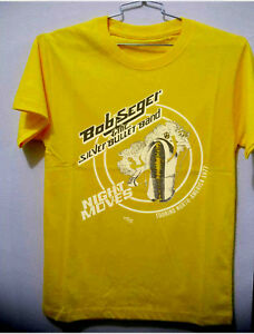 Vtg 70s Bob Seger The Silver Bullet Band Tour North America Shirt/_Reprint Gildan