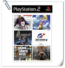 CHOOSE ANY 6 pcs of PS2 SONY PLAYSTATION CD DVD GAMES