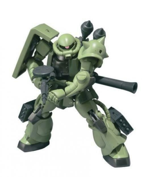 NEW ROBOT SPIRITS Side MS Gundam ZAKU II Acrion Figure BANDAI TAMASHII NATIONS