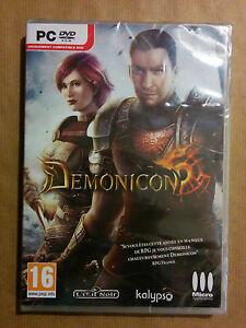 Demonicon-Jeu-PC-NEUF-L-039-Oeil-Noir