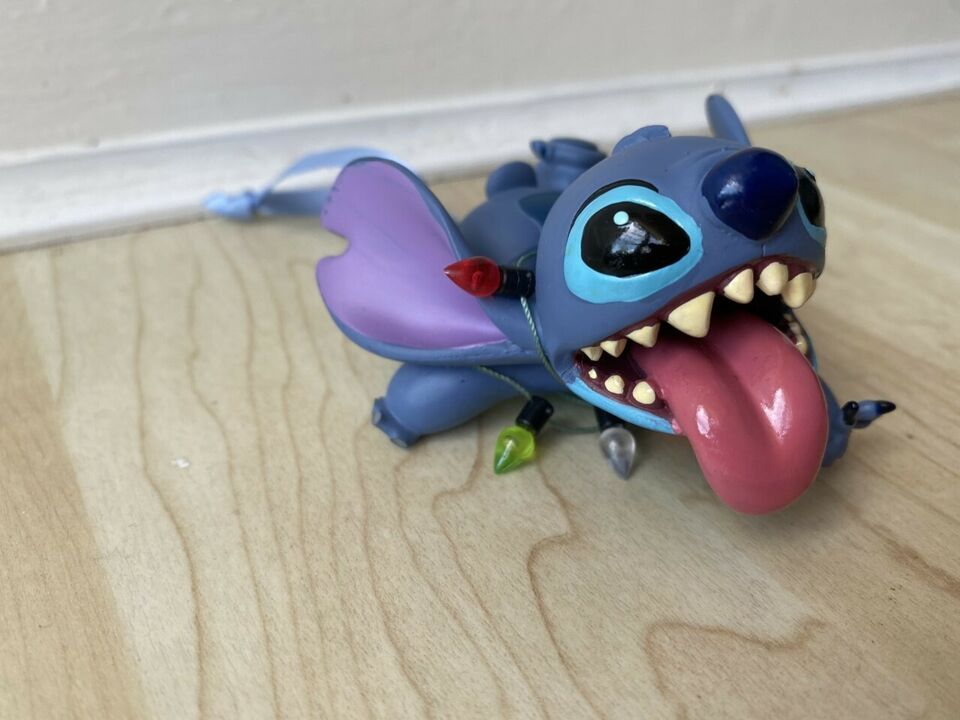 Stitch with Lights Sketchbook Ornament