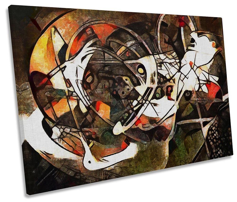 braun Abstract Design Framed SINGLE CANVAS Drucken Wand Kunst