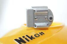 Nikon F Flash shoe adapter Type I GREY Nippon Kogaku for BC-4 BC-5 Flash Unit