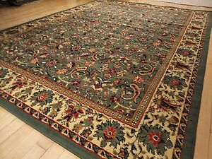 Image Is Loading New Green Area Rugs Traditional 8x11 Oriental Rugpersian