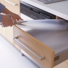 3 x Rolls of Clear IKEA VARIERA Non-Slip Kitchen Drawer Liner Mat (150x50cm)