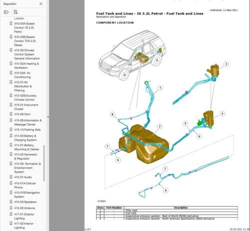 Anleitungen & Handbcher Land Rover Freelander II manuale officina ...