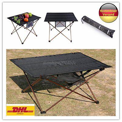 OUTAD Klapptisch faltbarer Schreibtisch für Camping Picknick Travel Super DE