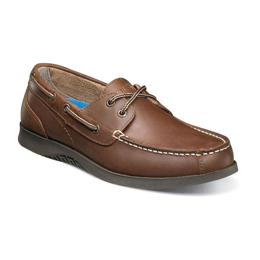 Nunn Bush Bayside Men's Moc Toe Casual Boat shoes Sz 10 M NIB