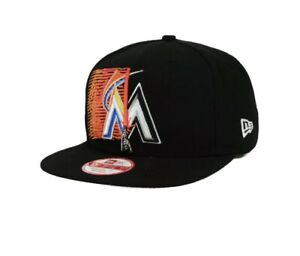 New Era Star Wars Miami Marlins 9FIFTY Baseball Hat Original Fit Snapback Cap