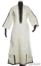 ANTIQUE Macedonian folk costume Tetovo embroidered chemise linen dress blouse