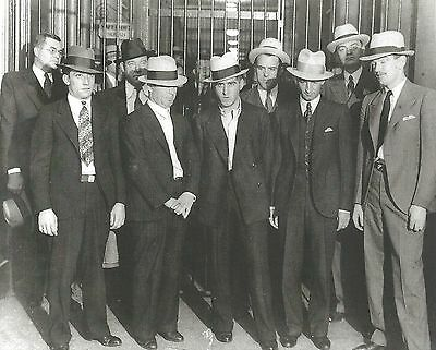 THE COLL GANG 8X10 PHOTO MAFIA ORGANIZED CRIME MOBSTER MOB PICTURE