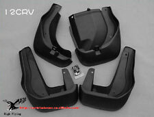 New 4 Pcs Front And Rear Molded Splash Guards Mud Flaps For Honda CRV 2012-15