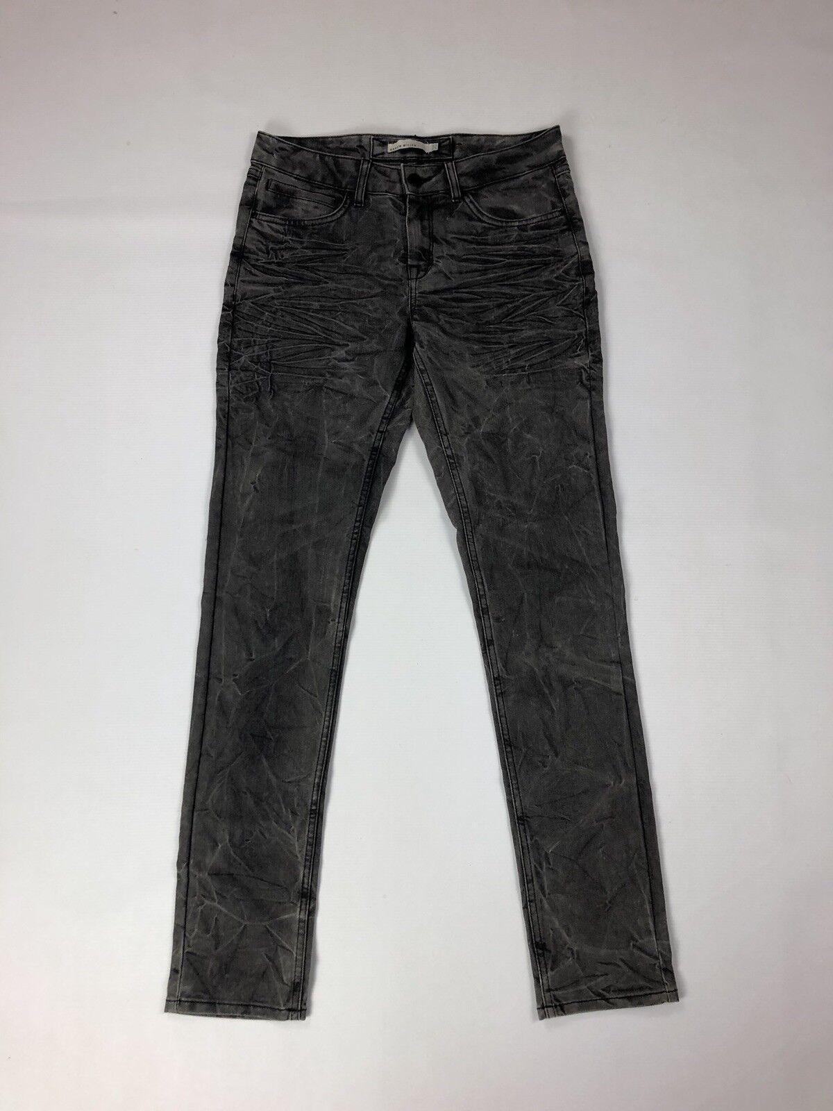 KAREN MILLEN Jeans - UK10 W30 L32 - Slim - Grey - Great Condition - Women's