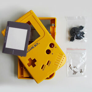 Details about 5 Colors Housing Case Full Button Parts for Kits Replacement  Game Boy DMG-01