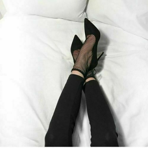 Zara Damen Absatzschuhe Netz Größe UK3 EUR36 US6