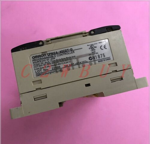 ONE USED Omron CPM2A-40CDT-D